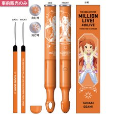 The Idolm@ster Million Live! 4th Live: Th@nk You for Smile!! Official Tube Light Stick - Tamaki Ogami Ver