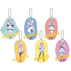 Vocaloid Mini Cushion Keychain Collection: Aocha Ver.
