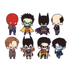 DC Universe Rubber Strap Collection: Batman Family Box Set