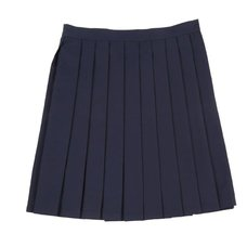 Teens Ever Navy Blue High School Uniform Skirt