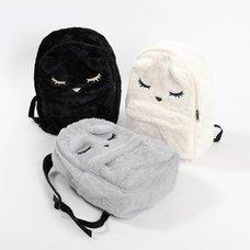 Osumashi Pooh-chan Furry Backpack