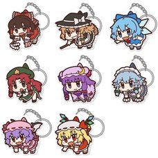Touhou Project Tsumamare Acrylic Keychain Collection