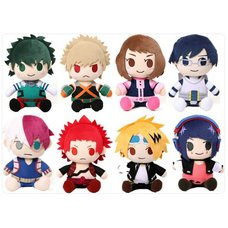 My Hero Academia Hero Ver. Plush Collection