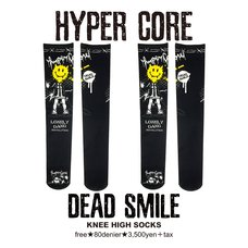 HYPER CORE Dead Smile Knee-High Socks