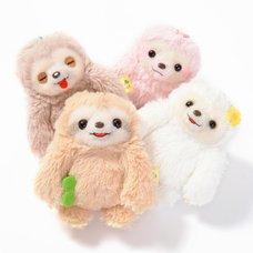 Namakemono no Mikke Mattari Hi Sloth Plush Collection (Ball Chain)