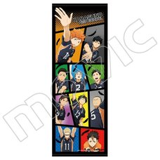 Haikyu!! Karasuno High vs Shiratorizawa Academy Sports Towel
