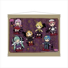 Hatsune Miku Halloween mago Ver. A3-Size Tapestry