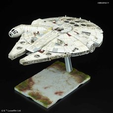 Star Wars: The Last Jedi 1/144 Scale Millennium Falcon