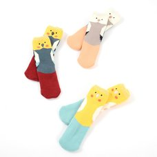 KOTORITACHI Marshmallow Cockatiel Socks