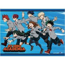 My Hero Academia Key Art 2 Premium Wall Scroll