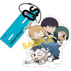 Tokyo Ghoul:re American Comics Style Acrylic Keychain w/ Display Stand