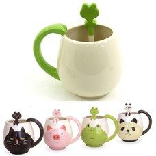 concombre Manmaru Mug & Spoon Set