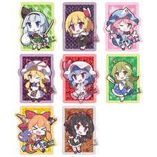 Touhou Project Diecut Pass Case Collection