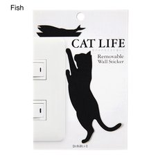 Cat Life Wall Story Wall Stickers