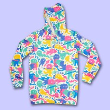 NUEZZZ Slime Painter All-Over Print Hoodie