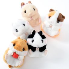 Coroham Coron no Otomodachi Hamster Plush Collection (Ball Chain)