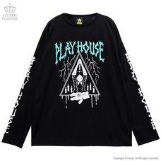 LISTEN FLAVOR Play House Long Sleeve T-Shirt