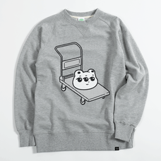 PARK Single Heikou Kumame Cart Sweater