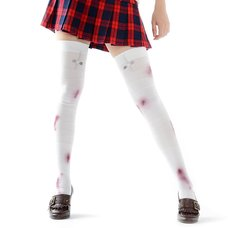 Zettairyoiki Bloody Bandage Thigh-High Tights