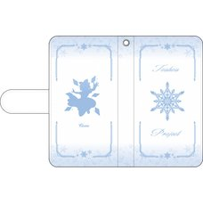 Touhou Project Cirno Notebook-Style Smartphone Case