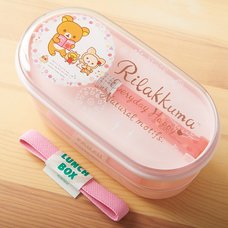 Rilakkuma Pink Chopsticks & Bento Box
