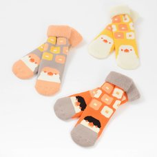 KOTORITACHI Java Sparrow Ribbed Socks