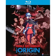 Mobile Suit Gundam: The Origin: Chronicle of Char and Sayla Blu-ray