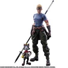 Play Arts Kai Final Fantasy VII: Advent Children Cid Highwind & Cait Sith
