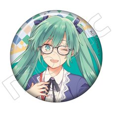 Vocaloid Meiko's Birthday Tin Badge Collection