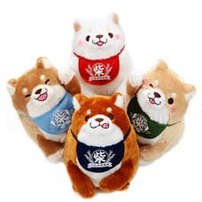 Chuken Mochi Shiba Sitting Big Plush Collection