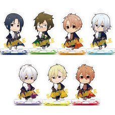 IDOLiSH 7 Acrylic Keychain & Stand Collection Box Set A