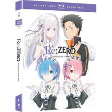 Re:Zero -Starting Life in Another World- Season 1 Part 1 Blu-ray/DVD Combo Pack