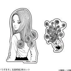 Junji Ito Uzumaki Kirie Goshima Sticker Set