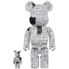 BE@RBRICK Jean-Michel Basquiat Vol. 3 100% & 400% Set