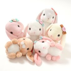 Pote Usa Loppy Sugar Rabbit Plush Collection (Standard)