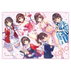 Fantasia Bunko Festival Hyakka Ryouran Saekano: How to Raise a Boring Girlfriend Megumi ga Ippai Blanket