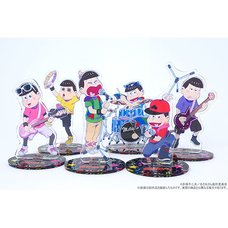 Osomatsu-san Band Big Acrylic Stands