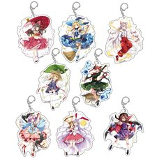 Touhou Project Spring Festival 2019 Big Keychain Charm Collection