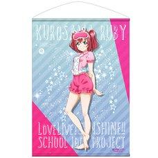 Love Live! Sunshine!! Ruby Kurosawa Pajamas Ver. B2-Size Wall Scroll
