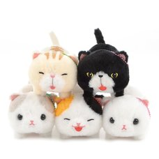 Nobinobi Munchkin Cat Plush Collection (Ball Chain)
