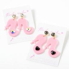 Pinkymika TOGE High Heel Pastel Earrings