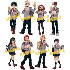 My Hero Academia Doughnut Ver. Acrylic Keychain Collection