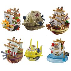 One Piece Yura Yura Pirate Ship Collection Vol. 3 Box Set