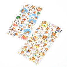 Rilakkuma Sticker Sheet - Rilakkuma's Summer Vacation -