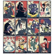 Kagerou Project Hanafuda Tin Badge Collection