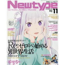 Monthly Newtype November 2018