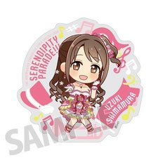 The Idolm@ster Cinderella Girls Official Producer Badge: Uzuki Shimamura (5th Live Tour Ver.)