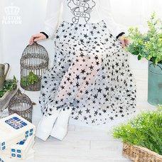LISTEN FLAVOR Star Tulle Layered Skirt