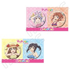 Non Non Biyori: Vacation Pin Badge Collection