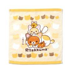 Rilakkuma Nonbiri Neko Hand Towel